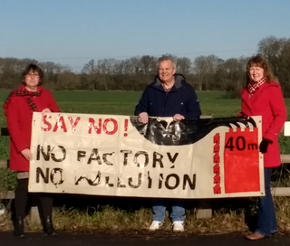 The Lib Dem Focus campaigned with the local community against a toilet roll factory at Shawbirch East in the spring