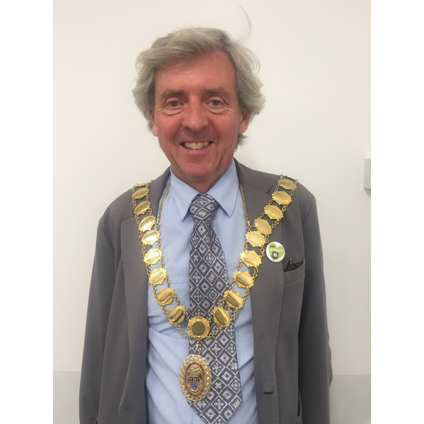 Wellington Mayor Councillor Anthony Lowe