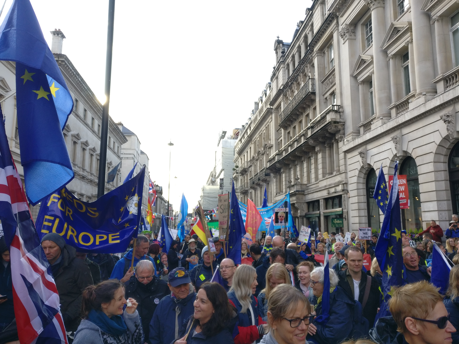 March for a Final Say Oct 19