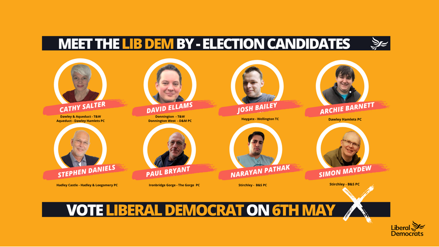 telford and wrekin by election candidates